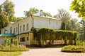 Summer in Russia. Yasnaya Polyana Stock Photo