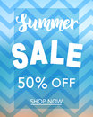 Summer Sale banner template for online shopping