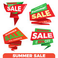 Summer sale. Sale label price tag banner badge template sticker