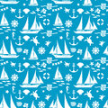 Summer seamless pattern vector illustration eps contains transparencies Royalty Free Stock Photo