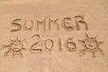 Summer 2016 sign