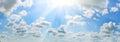 Summer sky Royalty Free Stock Photo