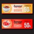 Summer snack discount voucher