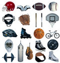 Summer sports Stock Photo