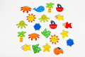 Summer stickers Royalty Free Stock Photo