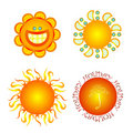 Summer sun Royalty Free Stock Images