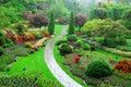 Summer Sunken Garden