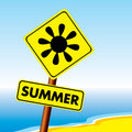 Summer symbol Royalty Free Stock Photography
