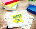 Summer Time Deal Promotion Purchase Shopping Concept