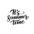 Summer Time Handwritten Lettering