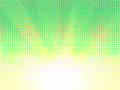 Summer time summer colors. Halftone pattern background texture. Royalty Free Stock Photo