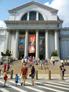 Summer Tourism at the Museum of Natural History Royalty Free Stock Photography