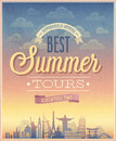 Summer tours poster.
