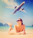Summer travel Stock Photo