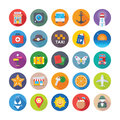 Summer and Travel Vector Icons 2