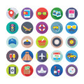Summer and Travel Vector Icons 4