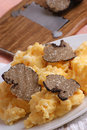 Summer truffle with some scrambled eggs Royalty Free Stock Photo