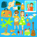 Summer Vacation Vector Collection