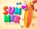 Summer Vector Design Concept W...