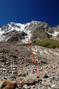 Summer view of Monte Rosa Royalty Free Stock Photos