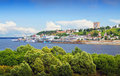 Summer view of Nizhny Novgorod Royalty Free Stock Photography
