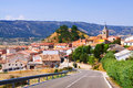Summer view of village in aragon frias de albarracin mountains teruel Stock Photo