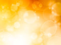 Summer warm bokeh background abstract Stock Photography
