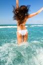 Léto pláž zábava