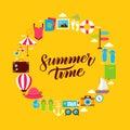 Summertime Flat Circle