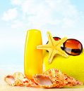 Summertime holidays background Royalty Free Stock Images