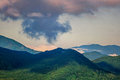 Summertime in the mountains great smoky tennessee Royalty Free Stock Images