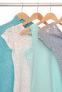 Summery blouses Royalty Free Stock Photo