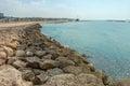 Summery Mediterranean Coast