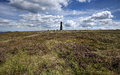 Summit of Kralicky Sneznik hill Royalty Free Stock Photo