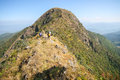 Summit from northern thailand of Royalty Free Stock Photography