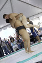 Sumo Wrestlers 10 Stock Images