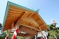 Sumo wrestling house kagawa japan Royalty Free Stock Photography
