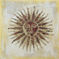 Sun artwork Royalty Free Stock Photography