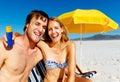 Sun awareness Stock Photo