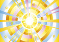 Sun background. Royalty Free Stock Photo