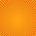 Sun beam ray sunburst pattern background summer. Shine Summer pattern. Vector Royalty Free Stock Photo
