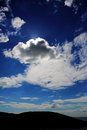 Sun Behind Clouds Royalty Free Stock Photo
