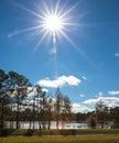 Sun Burst Royalty Free Stock Photo