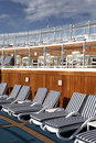 Sun deck Royalty Free Stock Photography