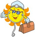 Sun doctor Royalty Free Stock Photography
