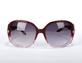 Sun glasses on a white background Royalty Free Stock Photos
