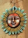 Sun god Royalty Free Stock Photo