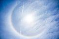 Sun Halo on April 16th, Tampa Florida
