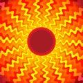 Sun Heat Burst Ray Background Royalty Free Stock Photo