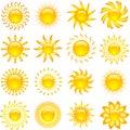 Slunce ikony
